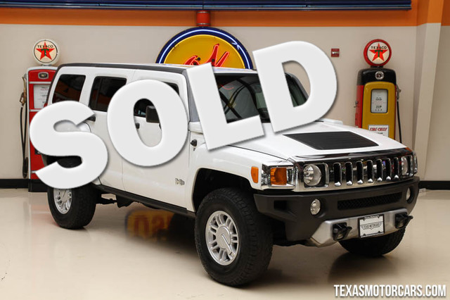 2009 HUMMER H3 SUV This Clean Carfax 2009 Hummer H3 SUV is in great shape with only 102 030 miles