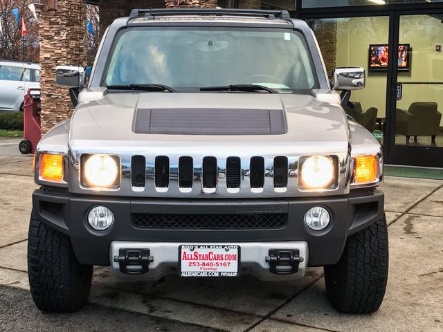 2009 Hummer H3 Luxury Clean CARFAX Boulder Gray Metallic 2009 Hummer H3 Luxury 4WD 4-Speed Automa