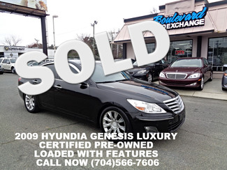 2009 Hyundai Genesis Luxury Charlotte, North Carolina