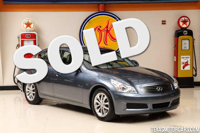 2009 Infiniti G37 Base This Carfax 1-Owner accident-free 2009 Infiniti G37 Base is in great shape