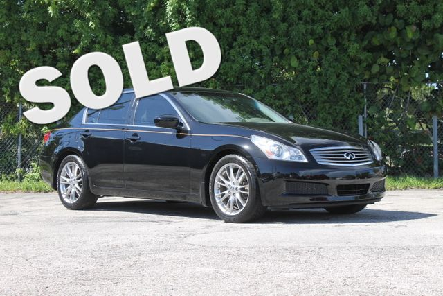 2009 INFINITI G37 Journey  WARRANTY CARFAX CERTIFIED 12 SERVICE RECORDS FLORIDA VEHICLE TRA