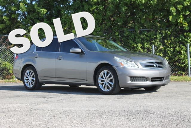 2009 INFINITI G37 x  WARRANTY CARFAX CERTIFIED NAVIGATION 6 SERVICE RECORDS FLORIDA VEHICLE