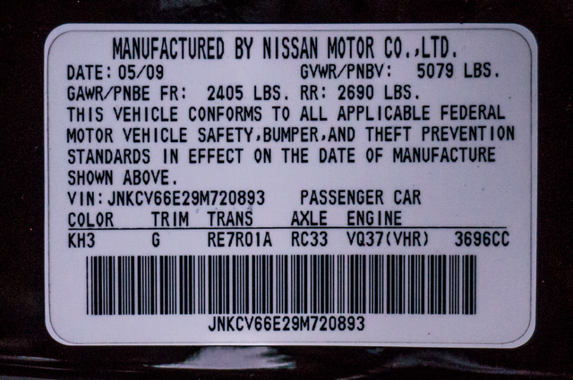 2009 Infiniti G37  Juurney - AUTO - 62K MILES - NAVI - HTD STS Reseda, CA 31