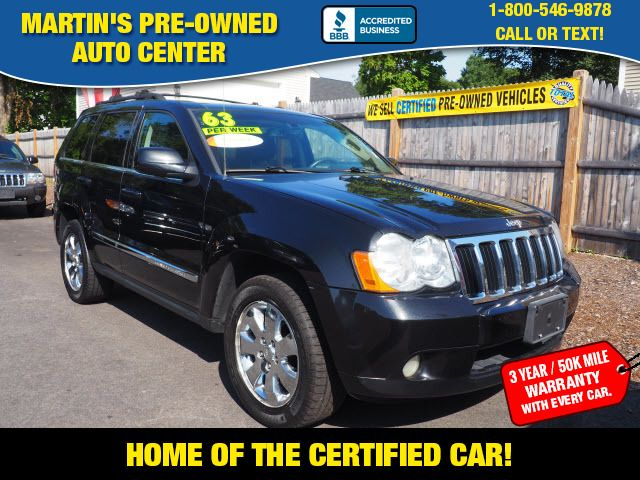 2009 Jeep Grand Cherokee Limited | Whitman, Massachusetts | Martin's Pre-Owned