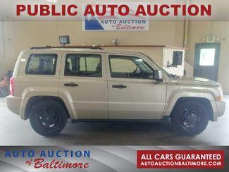 2009 Jeep Patriot Sport   JOPPA, MD   Auto Auction of Baltimore  in Joppa MD