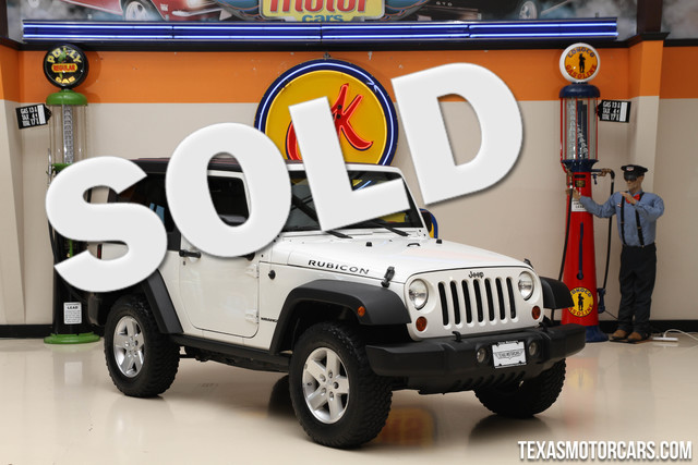 2009 Jeep Wrangler Rubicon Financing is available with rates as low as 29 wac Get pre-approve