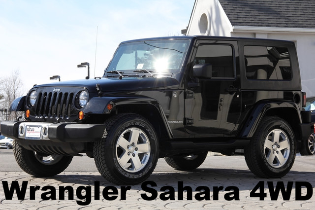 2009 JEEP Wrangler 4x4 Sahara 2dr SUV AMFM CD Player Anti-Theft Convertible 4-Wheel Drive AC