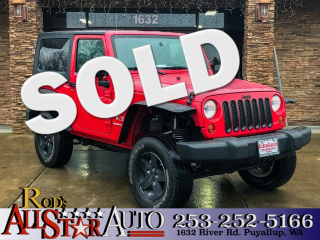 2009 Jeep Wrangler X 4X4 The CARFAX Buy Back Guarantee that comes with this vehicle means that you
