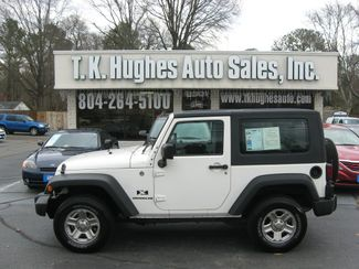 2009 Jeep Wrangler X 4X4 Richmond, Virginia