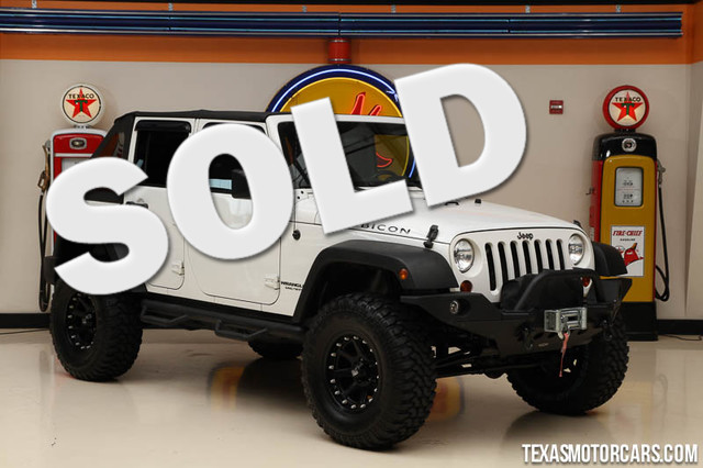 2009 Jeep Wrangler Unlimited Rubicon This Clean Carfax 2009 Jeep Wrangler Limited Rubicon is in gr