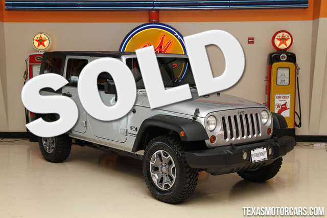 2009 Jeep Wrangler Unlimited X This Clean Carfax 2009 Jeep Wrangler Unlimited X 4x4 is in great sh