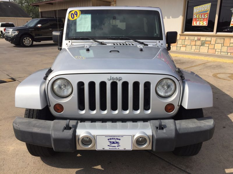 2009 Jeep Wrangler Unlimited Sahara  Brownsville TX  English Motors  in Brownsville, TX