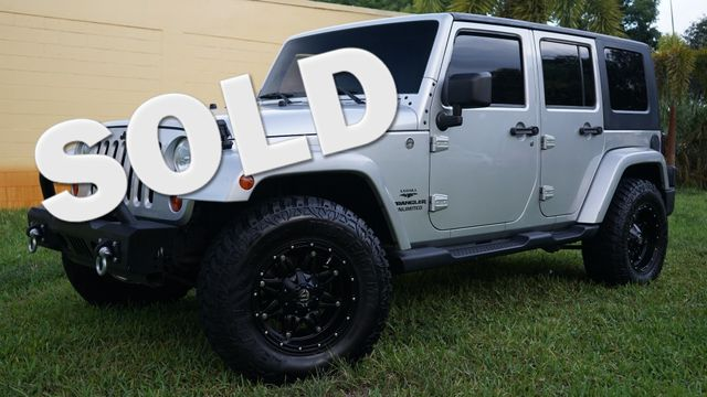 2009 Jeep Wrangler Unlimited Sahara in Lighthouse Point FL