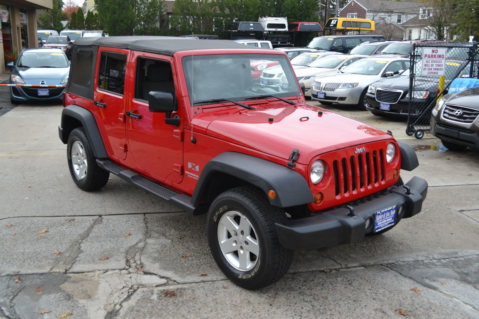 2009 jeep wrangler unlimited x city new father son auto corp
