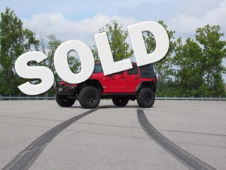 2009 Jeep Wrangler Unlimited in St. Charles, Missouri