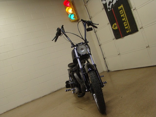 2009 Johnny Pag Custom Bobber Rat Bike Batavia, Illinois 1