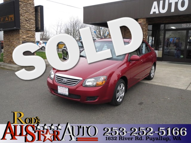 2009 Kia Spectra EX The CARFAX Buy Back Guarantee that comes with this vehicle means that you can