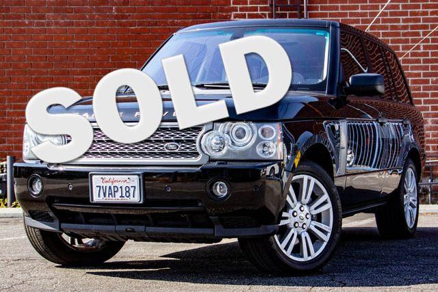 2009 Land Rover Range Rover SC Burbank, CA 0