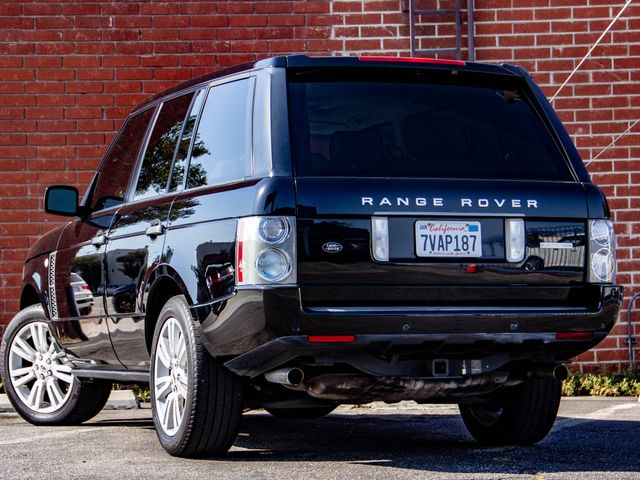 2009 Land Rover Range Rover SC Burbank, CA 4
