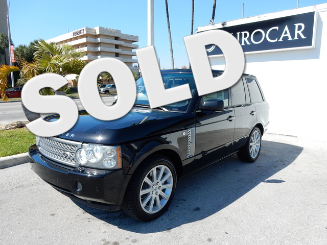 2009 Land Rover Range Rover SC 2V pwr outlet 6040 split folding heated rear seat wadjustable head