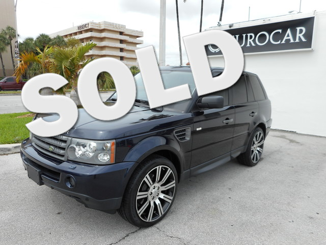 2009 Land Rover Range Rover Sport HSE This vehicle is a 2009 Land Rover Range Rover Sport HSE LUX