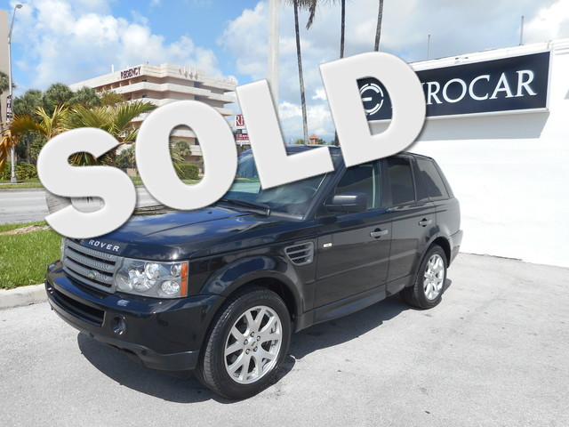 2009 Land Rover Range Rover Sport HSE -CERTIFIED- PRICED BELOW MARKET THIS RANGE ROVER SPORT WILL