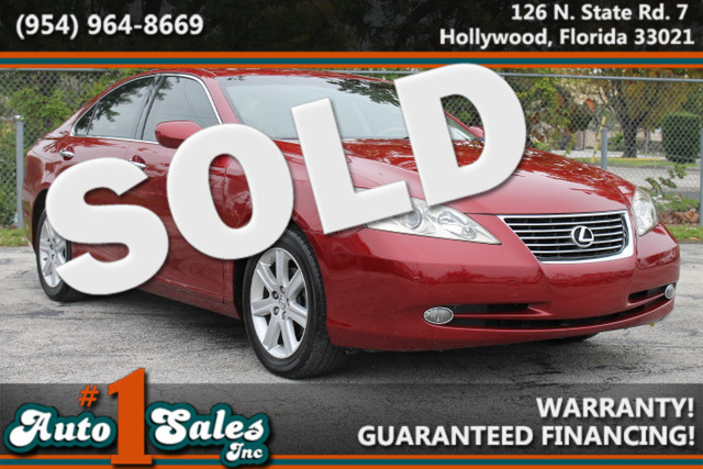 2009 Lexus ES 350  WARRANTY CARFAX CERTIFIED AUTOCHECK CERTIFIED 2 OWNERS 10 SERVICE RECORD