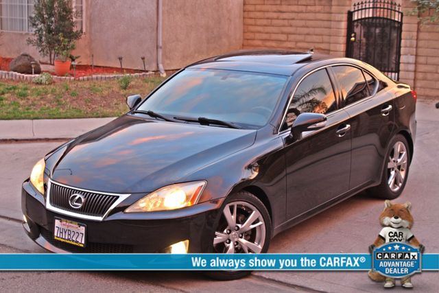 2009 Lexus IS 250 FULLY LOADED NAVIGATION AUTOMATIC 88K MLS 1-OWNER A/C SERIVCE RECORDS Woodland Hills, CA 0
