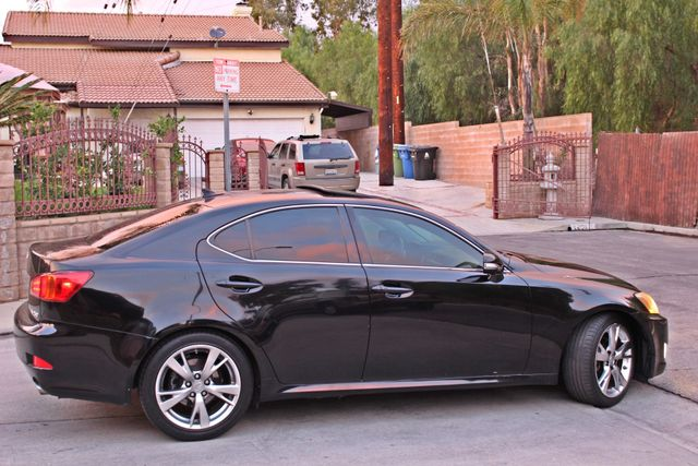 2009 Lexus IS 250 FULLY LOADED NAVIGATION AUTOMATIC 88K MLS 1-OWNER A/C SERIVCE RECORDS Woodland Hills, CA 6