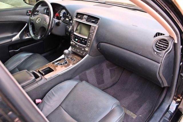 2009 Lexus IS 250 FULLY LOADED NAVIGATION AUTOMATIC 88K MLS 1-OWNER A/C SERIVCE RECORDS Woodland Hills, CA 14