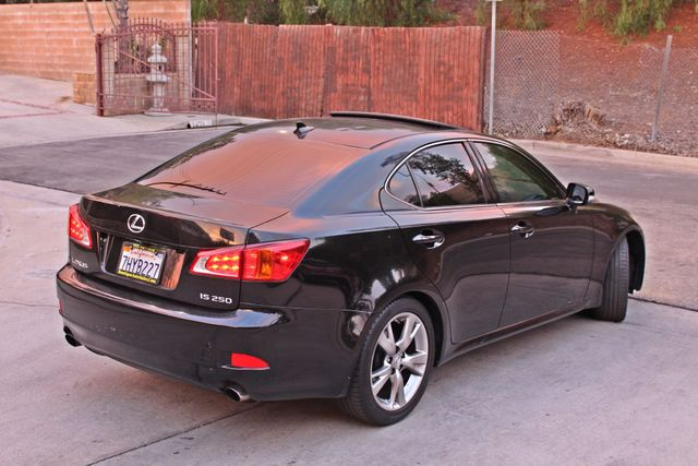 2009 Lexus IS 250 FULLY LOADED NAVIGATION AUTOMATIC 88K MLS 1-OWNER A/C SERIVCE RECORDS Woodland Hills, CA 5