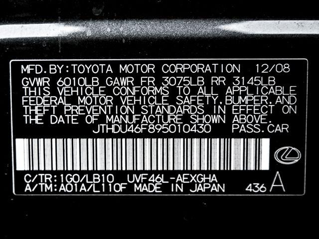 2009 Lexus LS 600h L Hybrid Burbank, CA 36