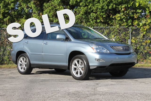 2009 Lexus RX 350  WARRANTY CARFAX FLORIDA VEHICLE TRADES WELCOME  Lexus luxury and reli