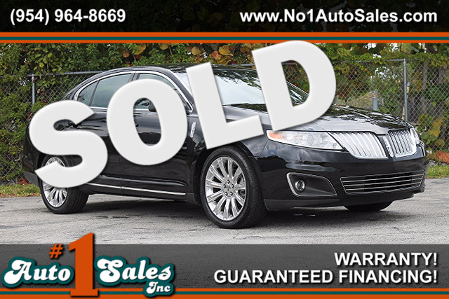 2009 Lincoln MKS  WARRANTY CARFAX CERTIFIED AUTOCHECK CERTIFIED ONE OWNER FLORIDA VEHICLE