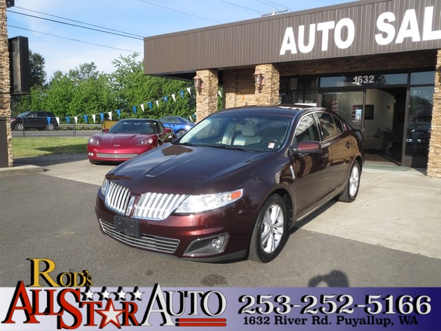 2009 Lincoln MKS The CARFAX Buy Back Guarantee that comes with this vehicle means that you can buy
