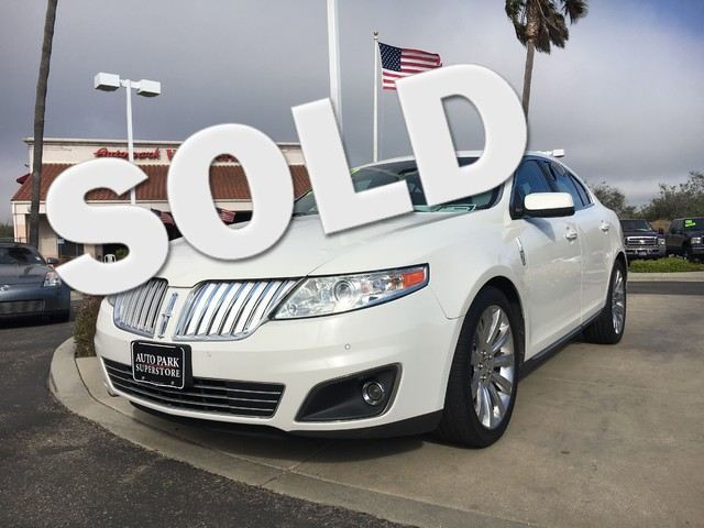 2009 Lincoln MKS Quality leather seats add to the elegance and comfort youll experience in this v