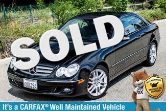 2009 Mercedes-Benz CLK350  PREMIUM PKG - 72K MILES - WOOD STEERING WHEEL Reseda, CA