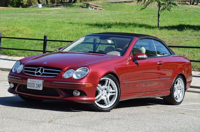 2009 Mercedes-Benz CLK550 5.5L Reseda, CA 19