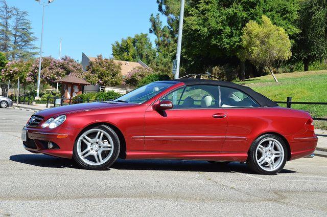 2009 Mercedes-Benz CLK550 5.5L Reseda, CA 20