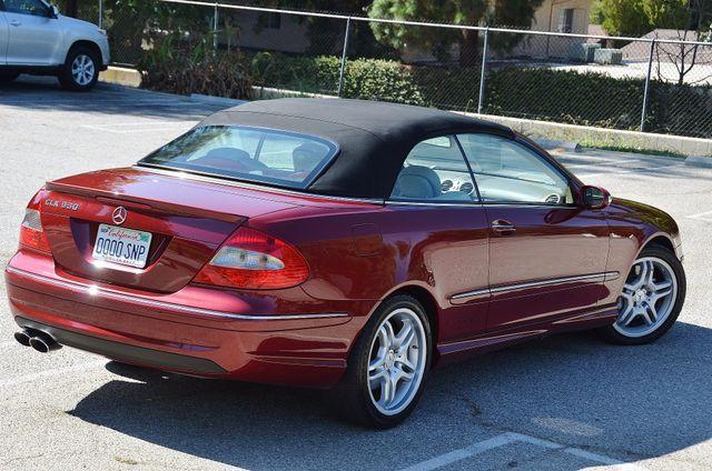 2009 Mercedes-Benz CLK550 5.5L Reseda, CA 8