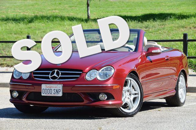 2009 Mercedes-Benz CLK550 5.5L Reseda, CA 0