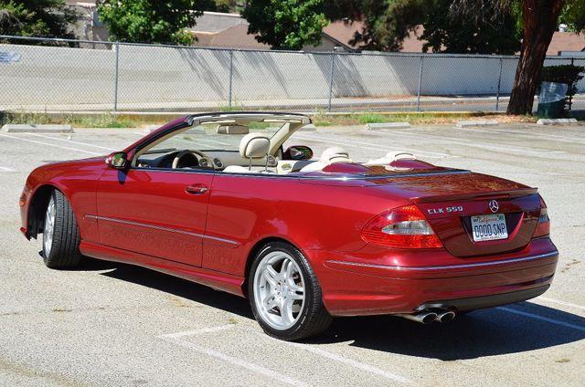 2009 Mercedes-Benz CLK550 5.5L Reseda, CA 15
