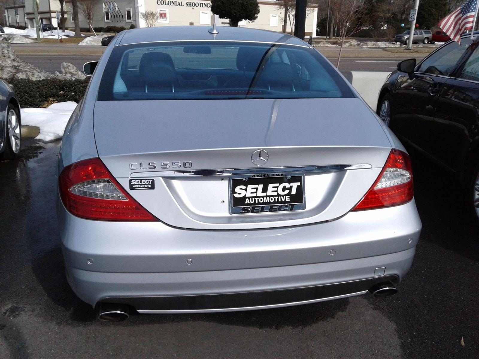 2009 Mercedes-Benz CLS550 55L city Virginia Select Automotive (VA)