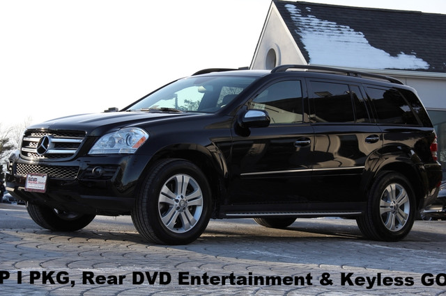 2009 Mercedes GL-Class AWD GL450 4MATIC 4dr SUV AMFM CD Player CD Changer Anti-Theft Sunroof