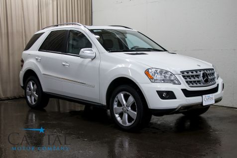 2009 Mercedes-Benz ML350 4Matic AWD w/Navigation, Backup Cam Heated Seats, Harman/Kardon Audio & 19-Inch Rims in Eau Claire