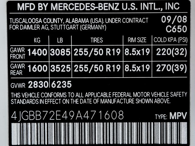 2009 Mercedes-Benz ML550 5.5L Burbank, CA 30