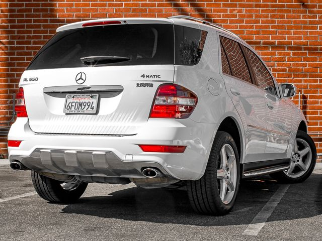 2009 Mercedes-Benz ML550 5.5L Burbank, CA 4
