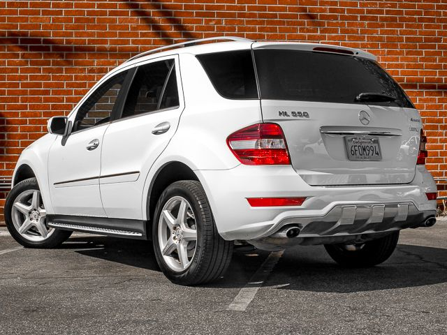 2009 Mercedes-Benz ML550 5.5L Burbank, CA 5