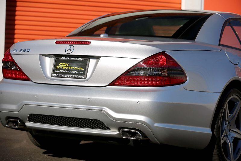 2009 Mercedes-Benz SL550 - Silver Arrow Limited Edition of 550  city California  MDK International  in Los Angeles, California