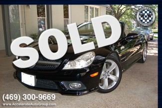 2009 Mercedes-Benz SL550 V8 CERTIFIED PRE-OWNED ONLY 38,905 MILES in Garland